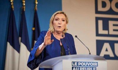 El partido de Le Pen superó al de Macron por nueve décimas en las europeas