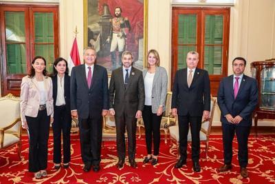 Presidente recibe a expertos en seguridad ciudadana del BID