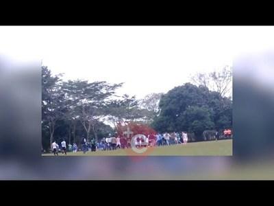 BATALLA CAMPAL EN SAN JUAN DEL PARANÁ