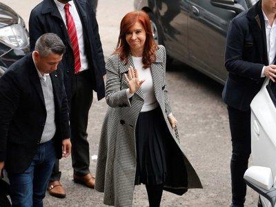 Cristina acude a segunda sesión de juicio por supuesta corrupción