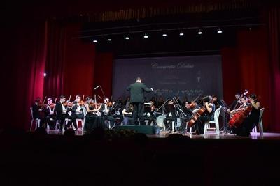 Concierto de debut de OCSAL, la Orquesta de San Lorenzo