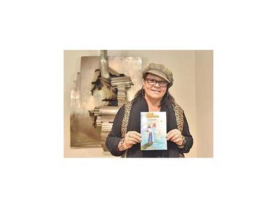 Autora nacional lanzó libro en Argentina