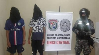 HOY / Grupo Lince detiene a dos hombres en Capiatá