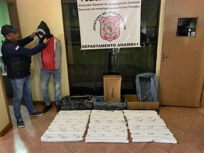 Trasladan a Asunción 75 kilos de dinamita en gel para ser analizados