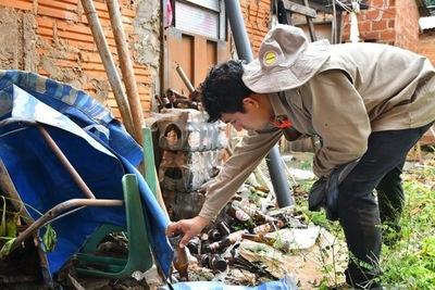 Campaña contra el dengue ya eliminó más de 400.000 criaderos en Alto Paraná
