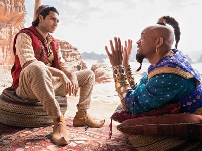 Aladdin vuela alto en la taquilla estadounidense