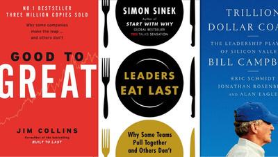 Los 5 libros más vendidos de Amazon sobre negocios, finanzas y liderazgo