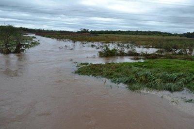 Misiones: Intensas lluvias afectan la producción agrícola