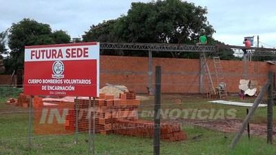 TERCERA COMPAÑÍA DE BOMBEROS A PUNTO DE MUDARSE A SU SEDE PROPIA.