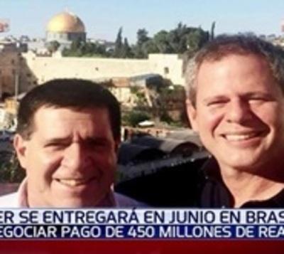 Messer se entregaría en junio a la Policía del Brasil