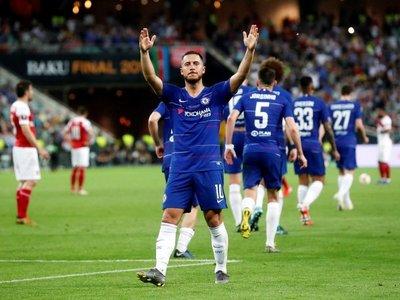 Hazard dice adiós al Chelsea y su futuro estaría en Madrid