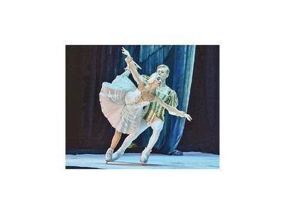 Ballet ruso sobre hielo presenta   El lago de los cisnes este sábado y domingo