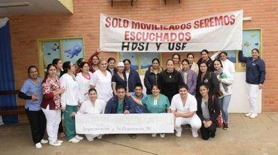 Desde Misiones enfermeros también exigieron la desprecarización laboral