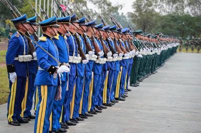Mandatario participa de celebración aniversario del Comando Logístico