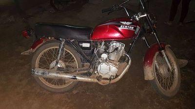 Gracias al GPS, policía logra recuperar una moto robada
