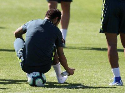 El juvenil que le hizo un caño a Neymar abandona concentración