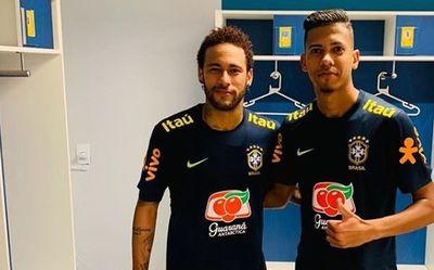 Jugador que hizo túnel a Neymar abandona concentración de la selección
