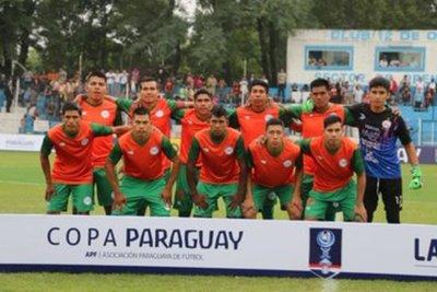 Puerto Diana quedó fuera de la Copa Paraguay