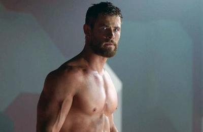 Chris Hemsworth siguió una dieta vegana para ser Thor