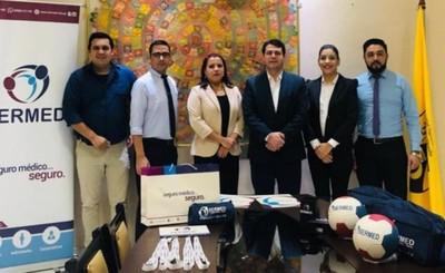 SERMED y FAFI firman convenio para estudiantes y funcionarios