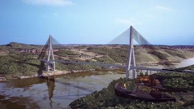 Avanzan en la firma de orden de servicio para inicio de Puente de la Integración
