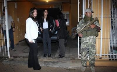 Fiscalía allanó un inmueble conectado a la casa del ex fiscal general
