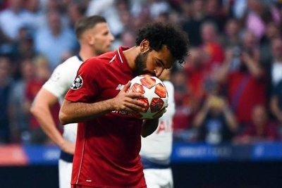 El gol de Salah