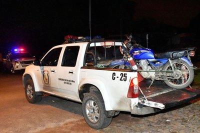 Recuperan gracias al GPS una moto robada en asalto