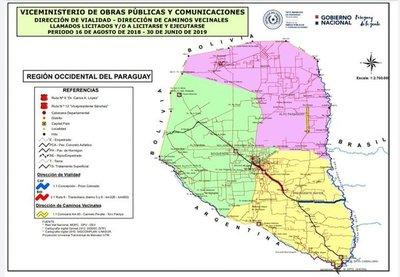 MOPC invertirá unos USD 280 millones en el Chaco