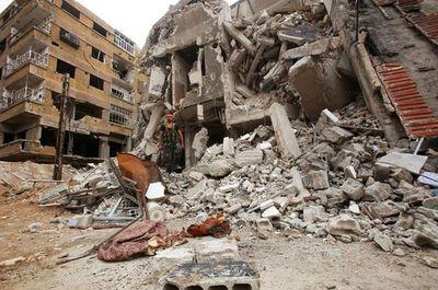 Auto bomba mata 14 personas en la ciudad siria de Azaz
