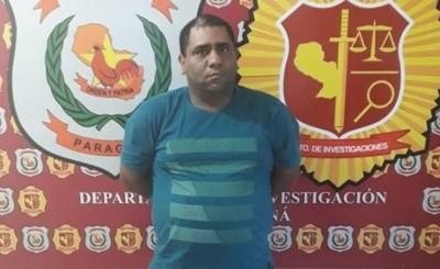 Brasileño buscado en su país por narcotráfico