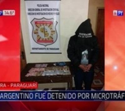 Capturan a ciudadano argentino por tráfico de drogas en Paraguarí