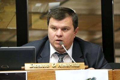 Hay mayoría para echar a Dionisio Amarilla del Senado