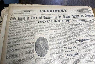Olimpia y el fantasma de la Intermedia en 1940