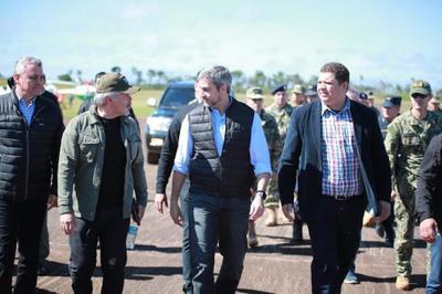 Presidente visita Amambay en el marco del operativo