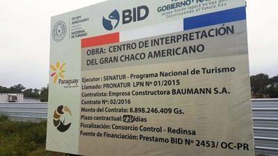 Centro de Interpretación del Gran Chaco Americano en etapa de culminación