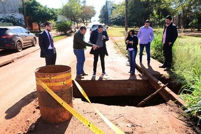 Anuncian que repararán calles del Km 8,5 Acaray