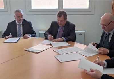 Máxima instancia judicial suscribe convenio internacional