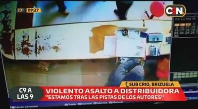 Hombres armados asaltan local comercial en San Juan Nepomuceno