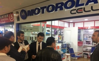 Por falta de patente, clausuran Motorola Cell