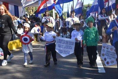 La ciudad de Lambaré celebra su 57° aniversario