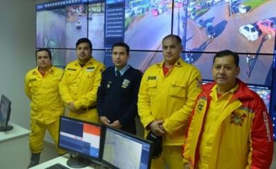 Convenio entre Bomberos y Policías unificará central de alarmas