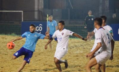 HOY / Areguá, Cerro y MRA, líderes en Copa Paraguay de fútbol playa