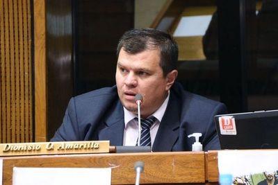 Solicitan sesión extraordinaria para tratar pérdida de investidura del senador Dionisio Amarilla