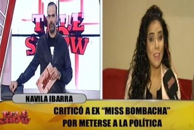 "Navila Ibarra asegura que no es ""paquita"" ni ""secretaria VIP"""