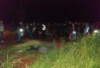 Secuestran y asesinan a supuestos asaltantes en zona de Pedro Juan