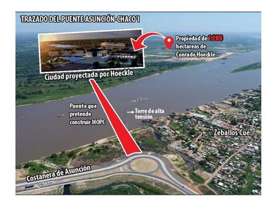 Al final, el puente Asunción-Chaco'i se financiará con bonos soberanos