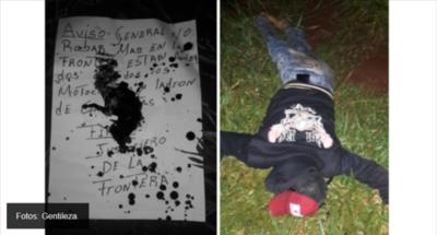 """""""Justicieros de la Frontera"""" raptan y matan a dos personas en PJC"""