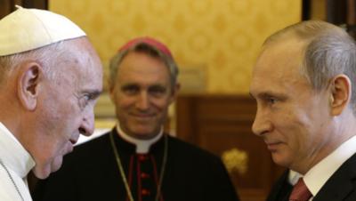 El papa Francisco recibirá a Putin