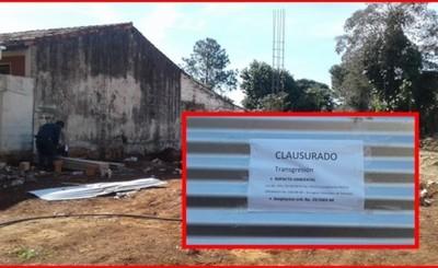 Paran construcciones de estaciones de servicios por irregularidades